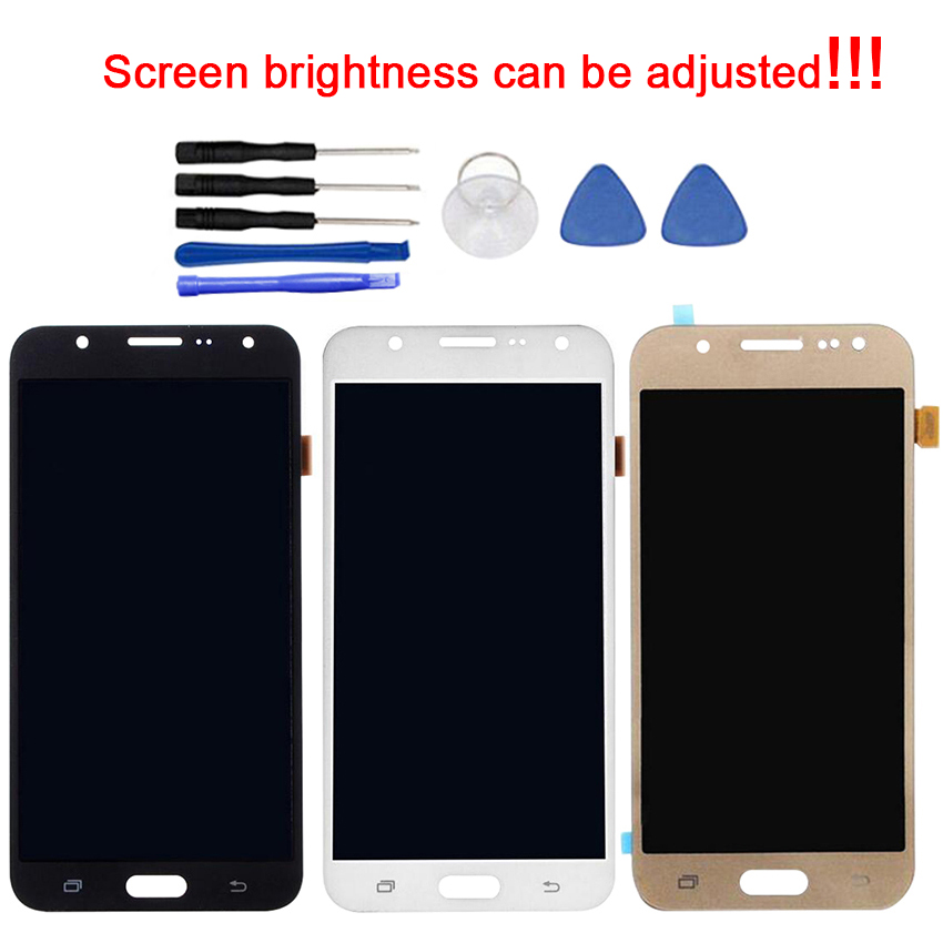 OLED Screen For Samsung Galaxy J7 2015 LCD Display Touch Screen Digitizer Adjustable Brightness with ToolsOLED Screen For Samsung Galaxy J7 2015 LCD Display Touch Screen Digitizer Adjustable Brightness with Tools