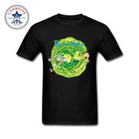 Newest Rick And Morty Geek T Shirt Men TV Tee Anime Funny T Shirt Cool Rick