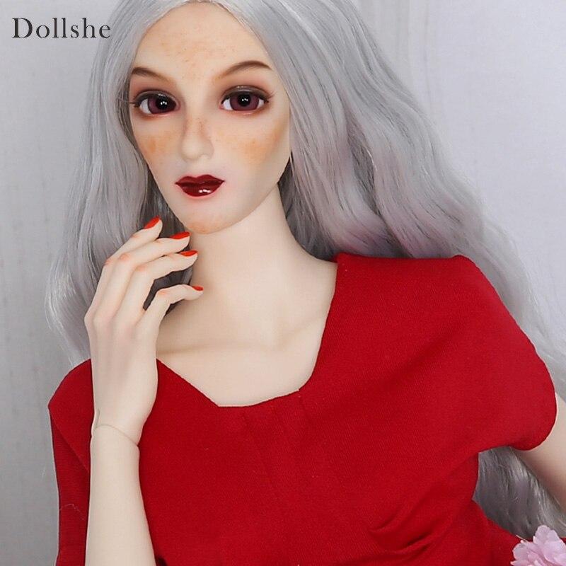 Dollshe craft DS Ausley Love 26F Classic soft bjd sd doll 1/3 body model boys oueneifs High Quality toy Fashioh shop цена