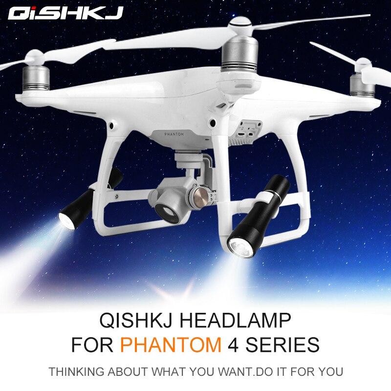 DJI Phantom 4 LED Light Night Flight Searchlight Spotlights Lights For Phantom 4/4 Pro V2.0 Phantom 4 Advanced Accessories