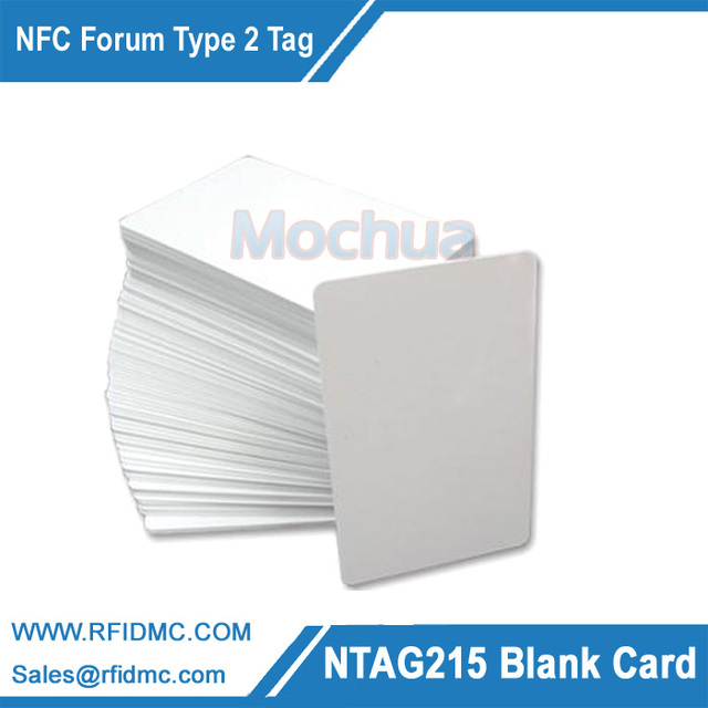 NTAG215 Card NFC Card NFC Forum Type 2 Tag for All NFC enabled devices-100pcs