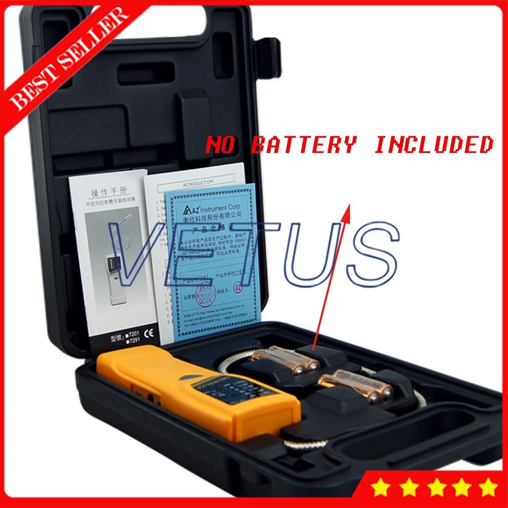 AZ7201 Handheld Propane Gas Leakage Tester Sensitive combustible gas detector Methane Gas Leak Detector az7201 portable sensitive combustible gas detector handheld propane gas leakage tester methane gas leak detector