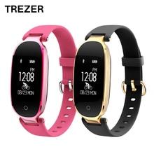 TREZER S3 Bluetooth Smart часы модные женские туфли женские монитор сердечного ритма Фитнес трекер Водонепроницаемый Смарт часы для Android IOS
