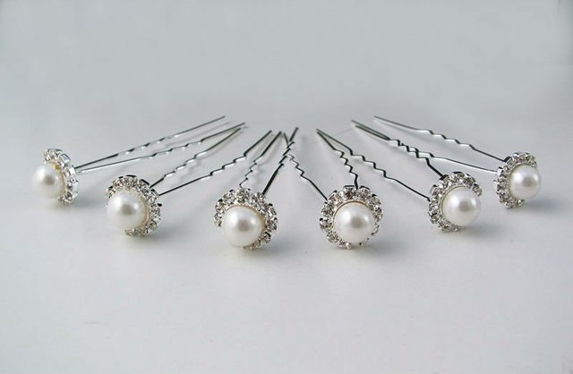 FREE SHIPPING, Wedding Jewelry, Bridal Hair Pins, Bridal Hair Accessory, 60pcs/lot, HA00005