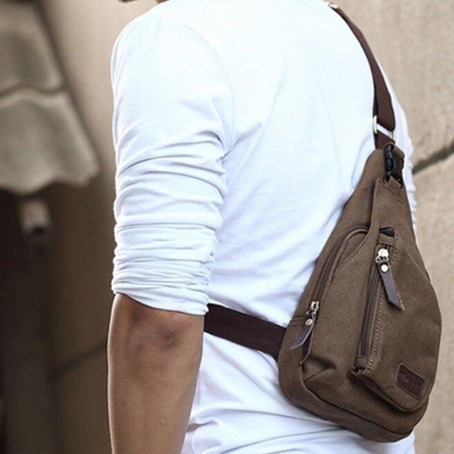 Aliexpress.com : Buy Man Shoulder Bag Men Sport Canvas Messenger ...