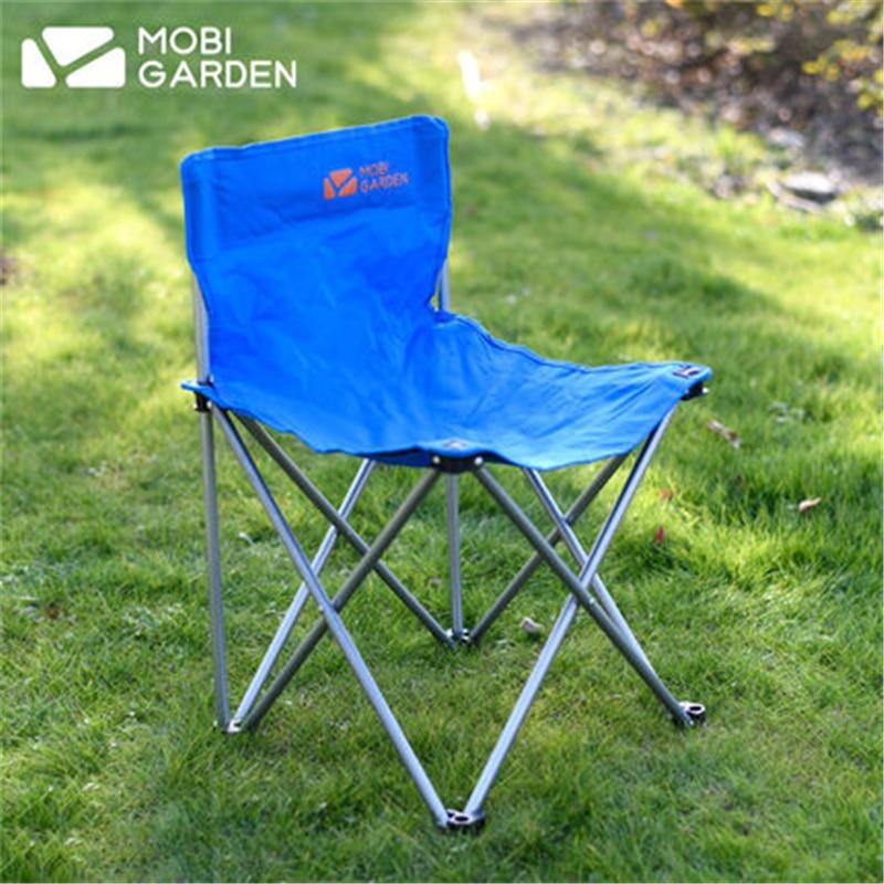 MOBI JARDIN 600 * 300D Oxford Tissu Portable Chaise De Pêche De Camping En Plein Air Unique personne Pliant Chaise De Camping En Plein Air Parc Chaise