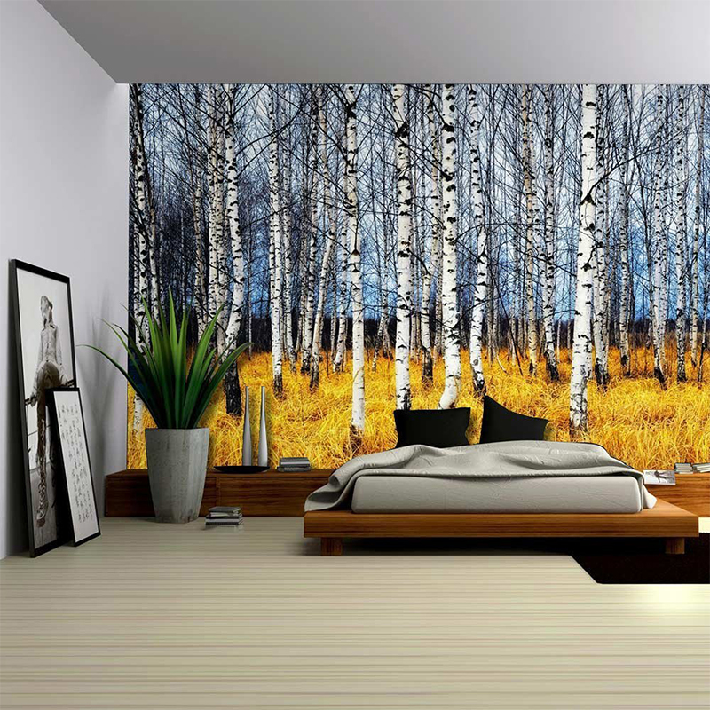Nature Wall Decor: 2017 New Landscape Wall Hanging Decorative Tapestry Nature