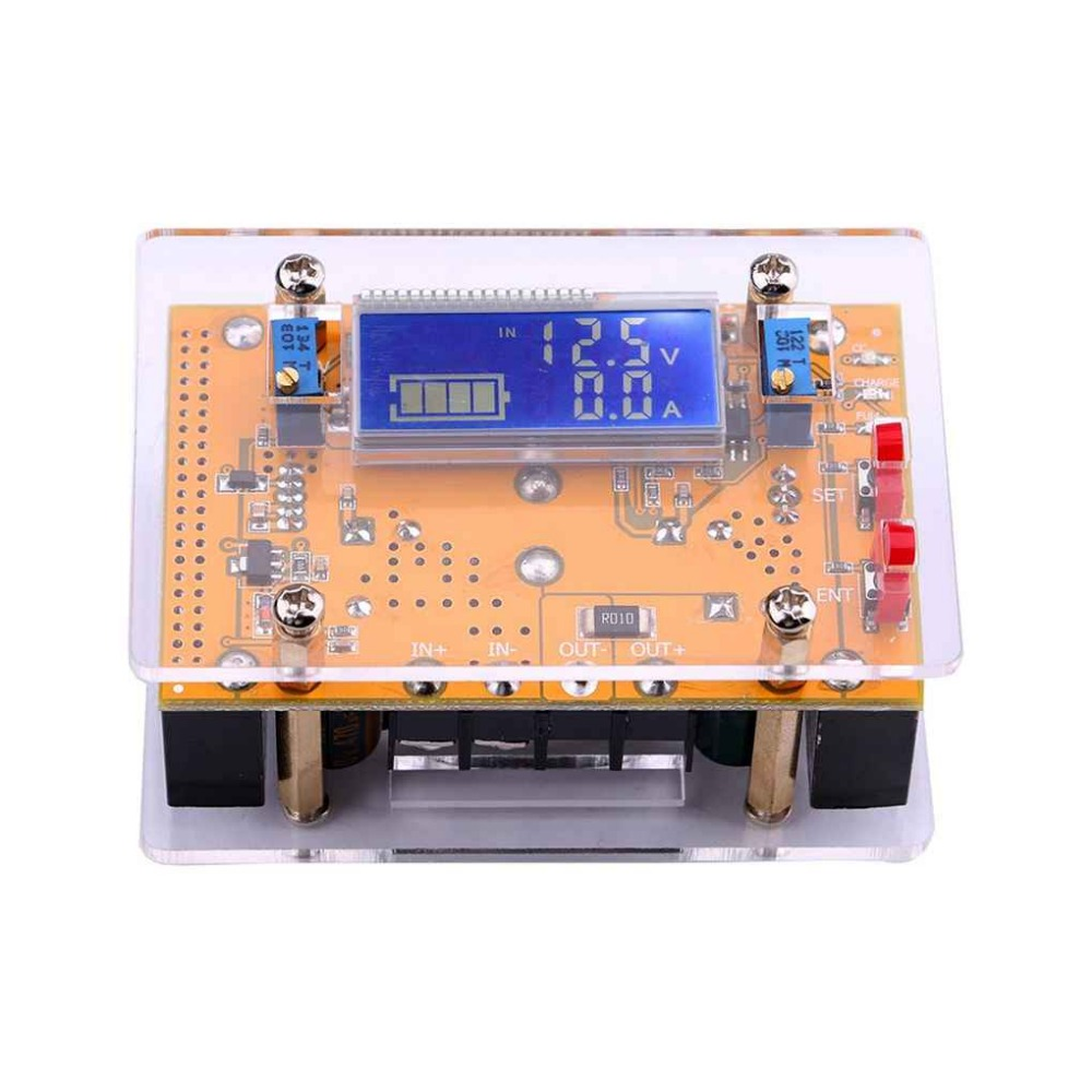 10A DC-DC Adjustable Step-down Power Supply Module Constant Voltage Constant Current LCD Display Step Down Buck Regulator lt3890 two phase dc dc power module synchronous rectifier pure step down constant voltage constant current