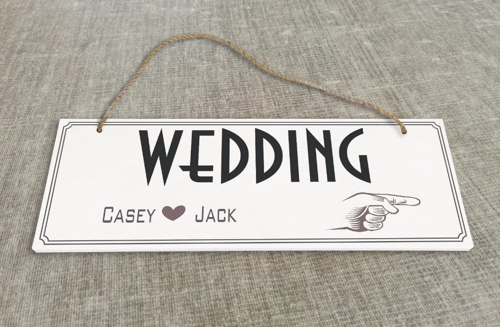 Personalized Outdoor Wedding Reception & Ceremony Decoration Directional Signs wedding sign board guild board SB012H ...