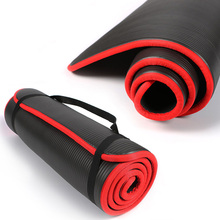 10MM Non-slip NBR Material Yoga Mat For Fitness Natural Pilates Gymnastics Sport Mat Yoga Exercise Pads Massage Mat