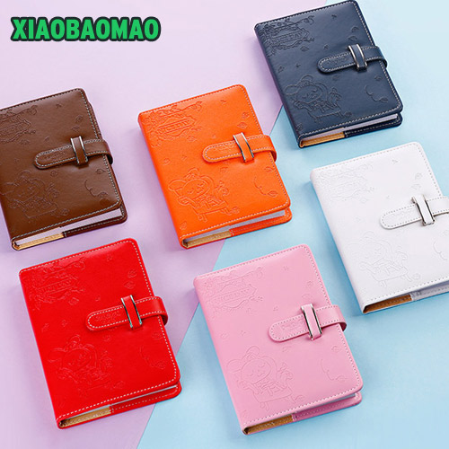 lovely Sweet Notebook Creative Student Schedule Diary Book Color Pages School Supplies A5 Color Interior Notebook Girl gift new arrival weekly planner thumb girl notebook creative student schedule diary book color pages school supplies no year limit