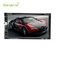 Автомобильный DVD/CD плеер 7 2 DIN Bluetooth Сенсорный экран Радио Аудио USB для iPod SD FM/AM Car Audio ресивер drop Доставка