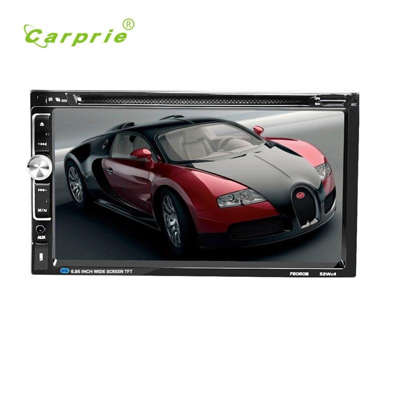 Lecteur CD DVD de voiture 7 2 DIN Bluetooth écran tactile Radio Audio USB pour iPod SD FM/AM récepteur Audio de voiture