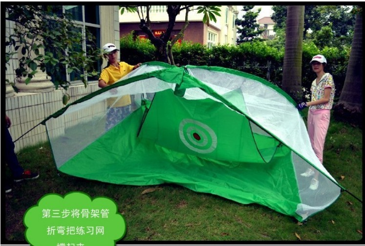Image 3 - For adult 3Mx2M Golf practice net Exercises cage Golf Training Aids Golf accessories-in Golf Training Aids from Sports & Entertainment
