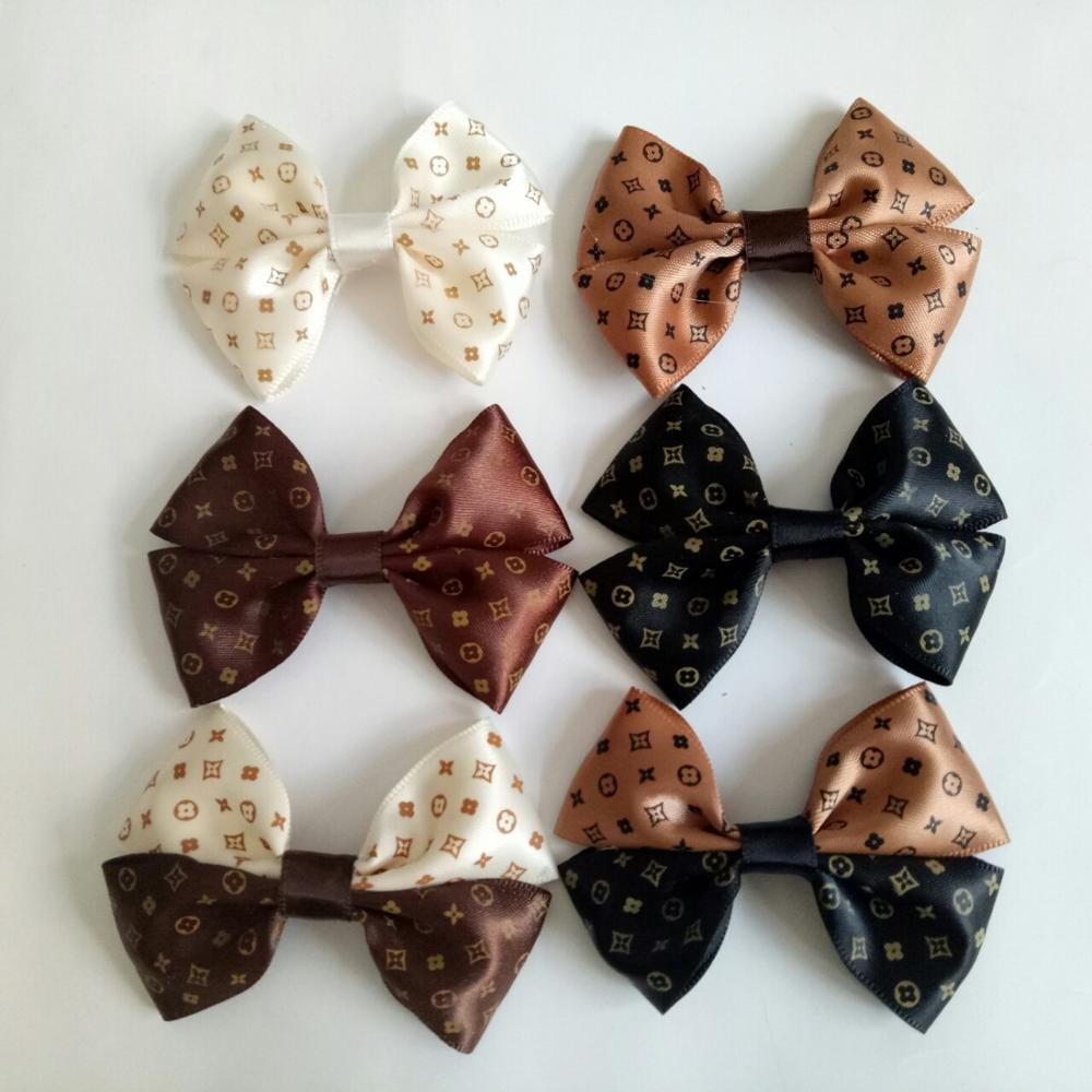 1PCS Fashion ribbon bows Ornament Accessories for hair bows bowknot   headwear   headband hairclip hairband hairpins No hair clip