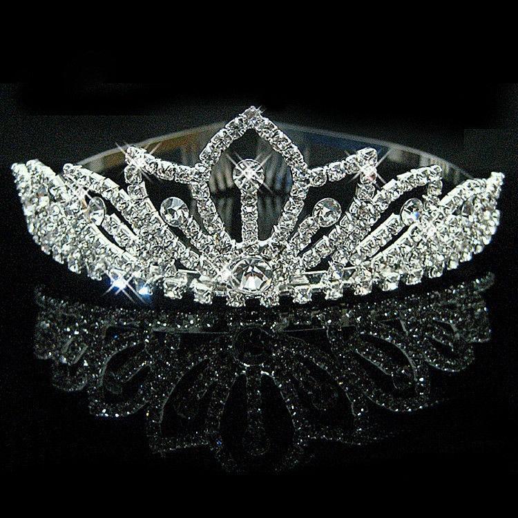HTB1toveIVXXXXXOXXXXq6xXFXXXy Bejeweled Pearl And Rhinestone Crystal Bridal/Prom/Cosplay Crown Tiara - 16 Styles