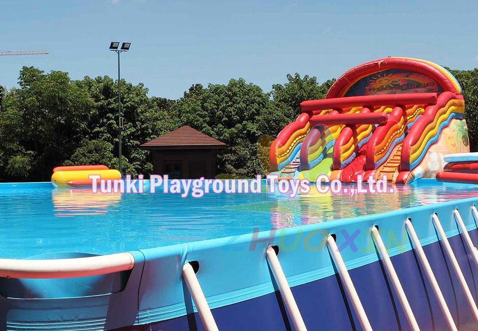 10x10x1.3m metal frame swimming pools