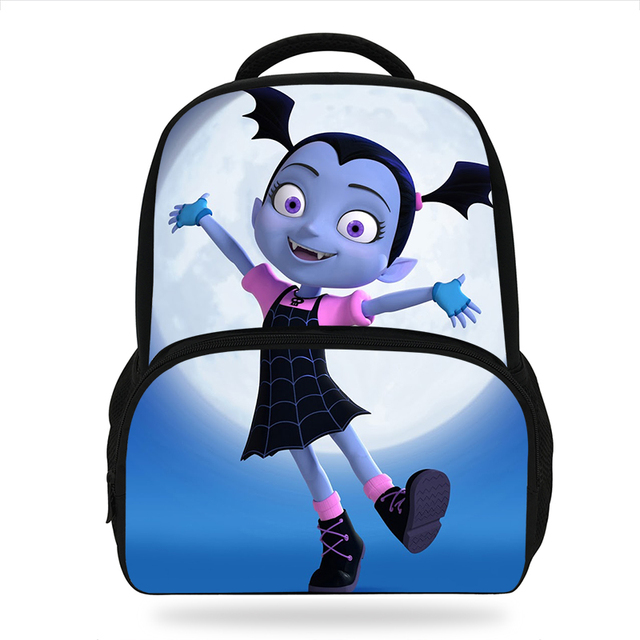 2018 Newest Cartoon Vampirina Children Daily Backpacks For Age S School Bags Movie Character Book