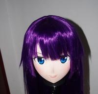(C2 050) Top Quality Japan Kigurumi Silicone Full Face Cosplay Masks Crossdresser Doll Kigurumi Anime Role Play Mask