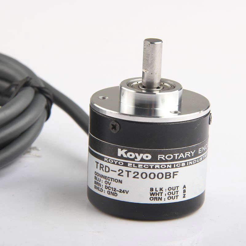 цена на TRD-2T600BF TRD-2T1000BF / 1024BF / 2000BF Totem-pole output solid shaft optical rotary encoder