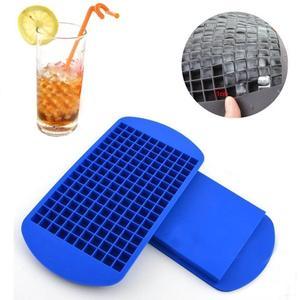 160 сеток DIY креативный маленький кубик льда форма квадратная форма Силиконовый поднос для Льда Фруктовый кубик льда чайник Бар кухонные аксессуары
