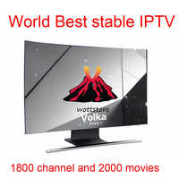 Android tv box VOLKA PRO Iptv Subscription france arabic iptv iptv code link channel list  stalker xtream