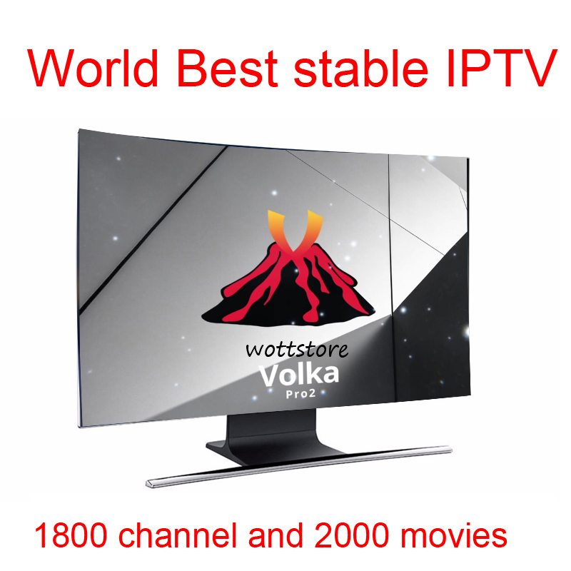 Android Tv Box VOLKA PRO Iptv Subscription French Arabic Iptv Iptv Code Link Channel List  Stalker Xtream