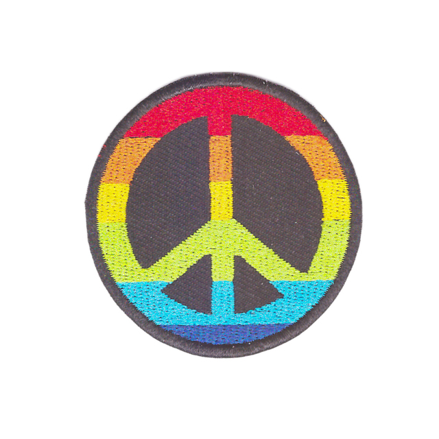 Attracting Attention Peace Sign Hippie Boho Retro Flower Power Love