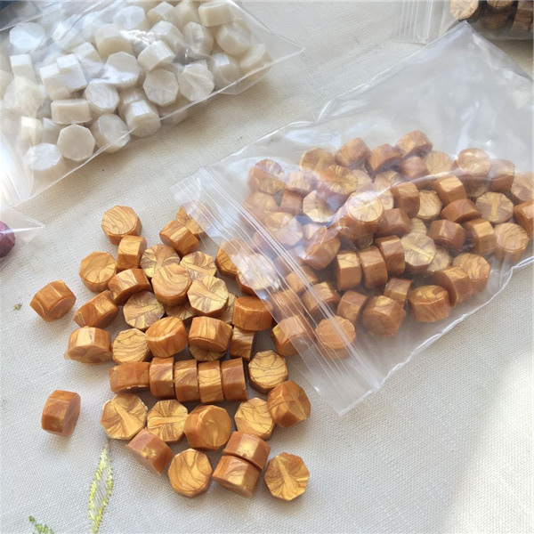 Tableta de cera de sellado clásico granos para estampado