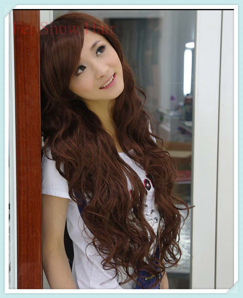 hair ombre style korean hairstyle synthetic afro curly hair 5407