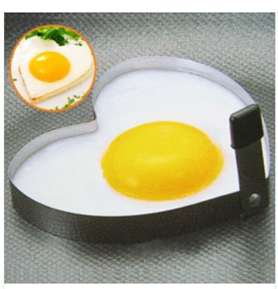 Min Order $15 (mixed order) Stainless Steel Heart Omelette Mold Egg Mold Heart Love Ring Omelette Device AQ2312