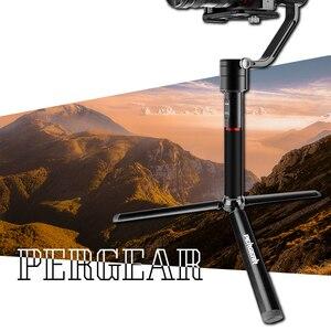 Image 4 - Pergear di Alluminio Mini Treppiede Da Tavolo Gamba per la Testa del Treppiede Selfie Stick Allungabile Monopiede Smartphone Telecamere Zhiyun Liscia Q2 4