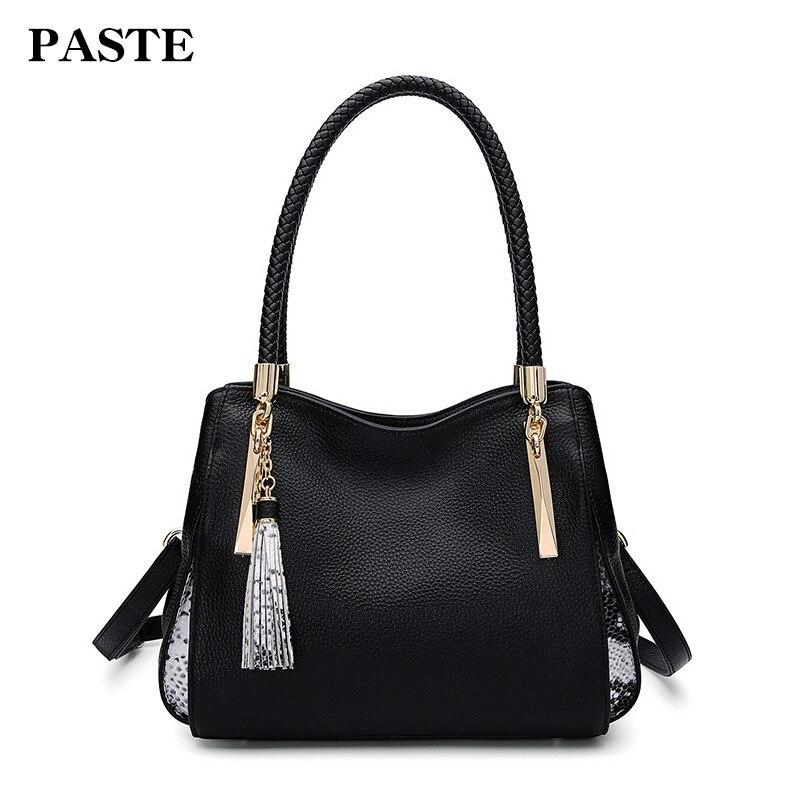 2019 новая женская сумка из натуральной кожи, женская сумка на плечо из змеиной кожи, роскошная брендовая дизайнерская женская сумка мессендж