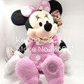 45 cm Original Big Pink Minnie Mouse Animales de Peluche de Felpa Muñeca de Juguete de Regalo de Cumpleaños de La Niña de Regalo