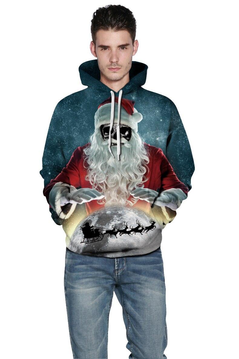 3D print deer Hoodies Sweatshirts Men Women couples Print Hoodie Casual Tracksuits Fashion Regular Hoodie Coats polyester