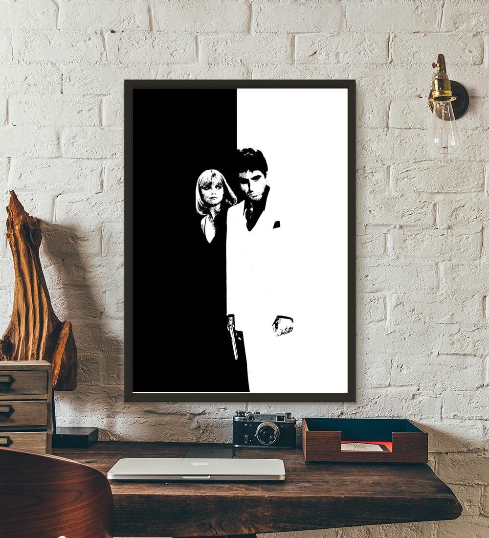 Scarface Movie Wall Art Wall Decor Silk Prints Art Poster Paintings ...