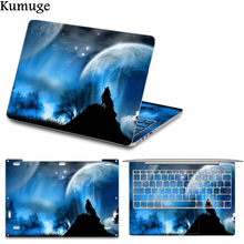 цена на Laptop Sticker Cover for Xiaomi Mi Notebook Air 12 13 inch Cool Colorful Full Set Decal Vinyl Laptop Skin for Xiaomi Pro 15.6