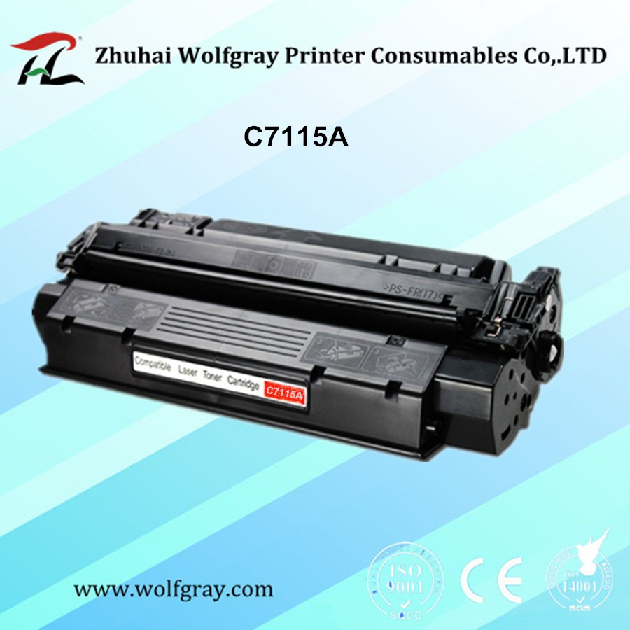 Compatible for HP C7115A toner cartridge for HP LaserJet 1000/1005/1200/1220/3300/3310/3320/3380 for CANON LBP 1210 compatible toner cartridge for hp c7115x lasterjet 1000 1005 1200 1220 3300 3310 3320 3330 3380 for canon lbp 1210 russian stock