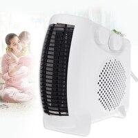 Mini aquecedor elétrico portátil espaço escritório em casa inverno ventilador aquecedor de ar|Aquecedores elétricos| |  -