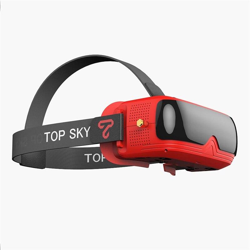 TOPSKY PRIME II 2 แว่นตา FPV 480 & 320 จอแสดงผล 58 72 มม.IPD DVR ในตัวทดแทนสำหรับ Emax tinyhawkS Mini FPV Racing Drone-ใน ชิ้นส่วนและอุปกรณ์เสริม จาก ของเล่นและงานอดิเรก บน   1