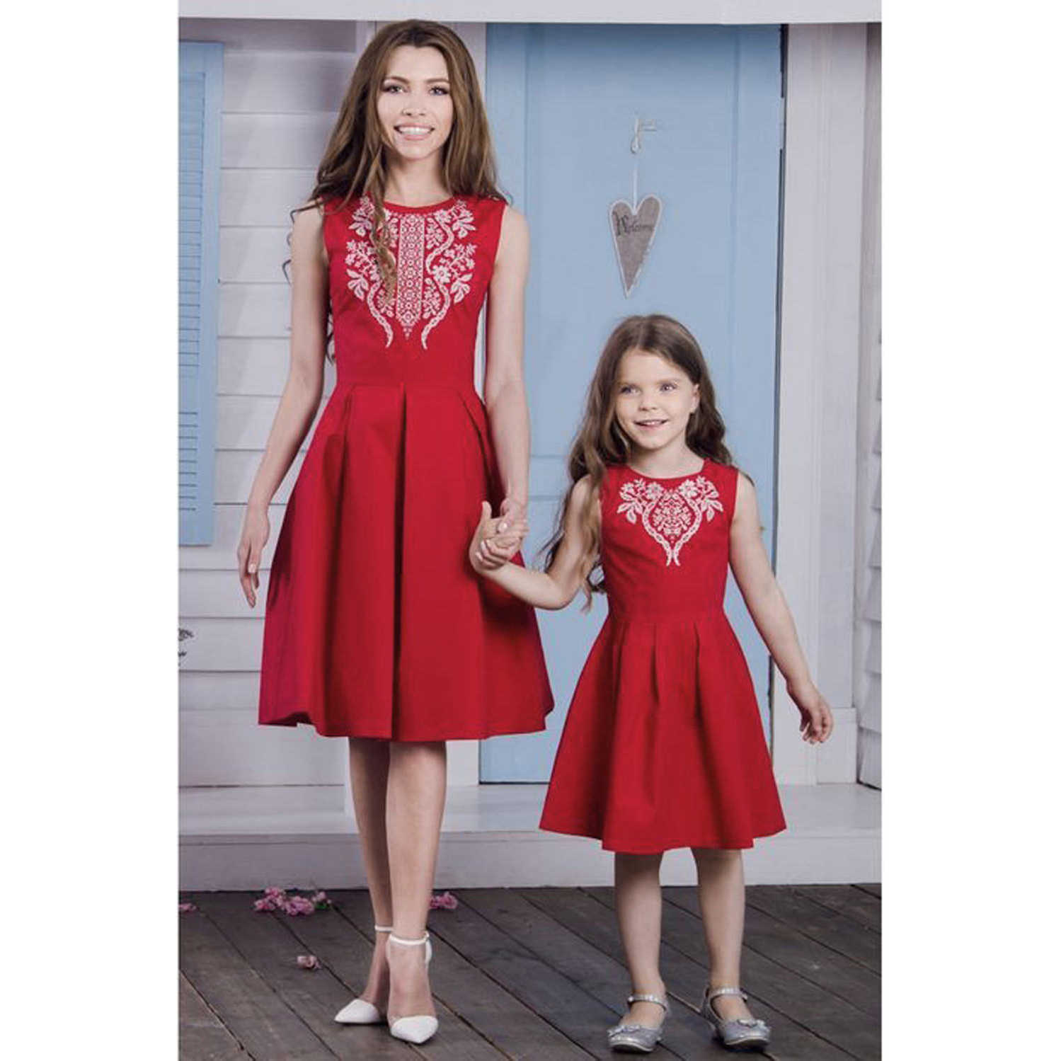 c0af9eaa7e9a 1-6T Mother daughter dresses Family Parent Child Outfit Womens Party  Pageant Bridesmaid Wedding Fromal