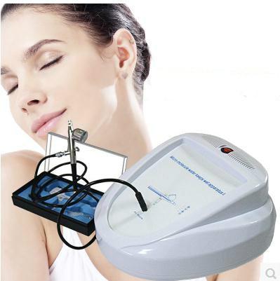 Oxygen Injector Water Jet Machine Skin Water Oxygen Sprayer Micro-molecular Water Keeps Wet Apparatus With Airbrush