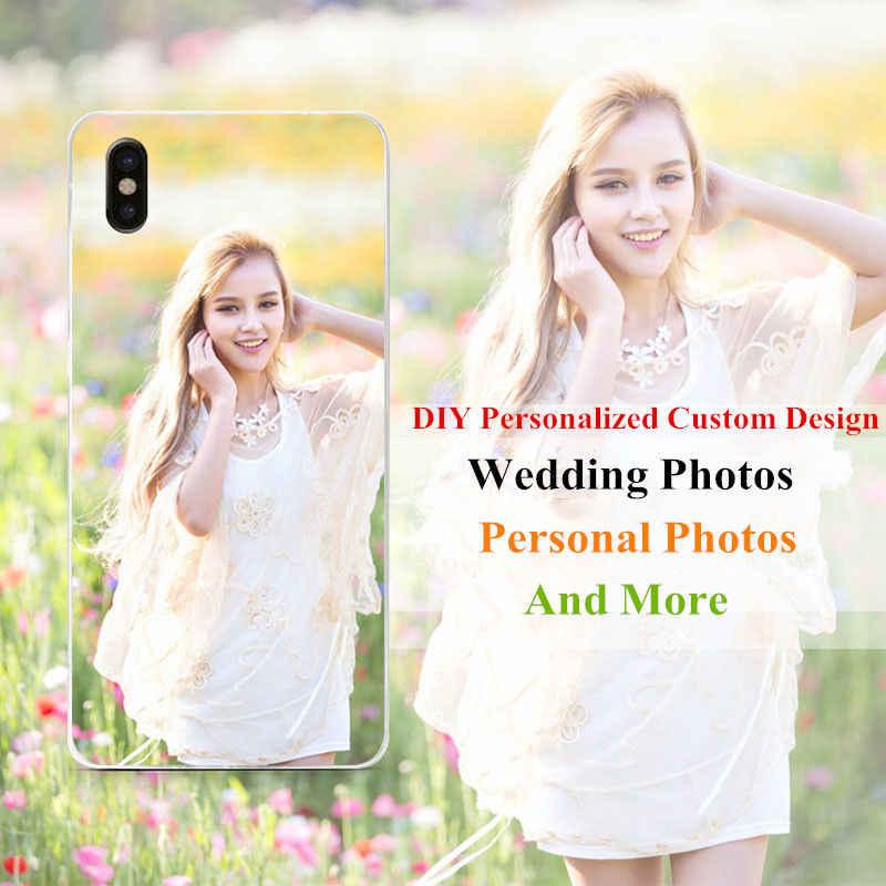 Custom DIY Print Photo Soft TPU Case For Wiko Lenny Sunny 2 3 Robby Jerry  Sunset 714d3dbe3955