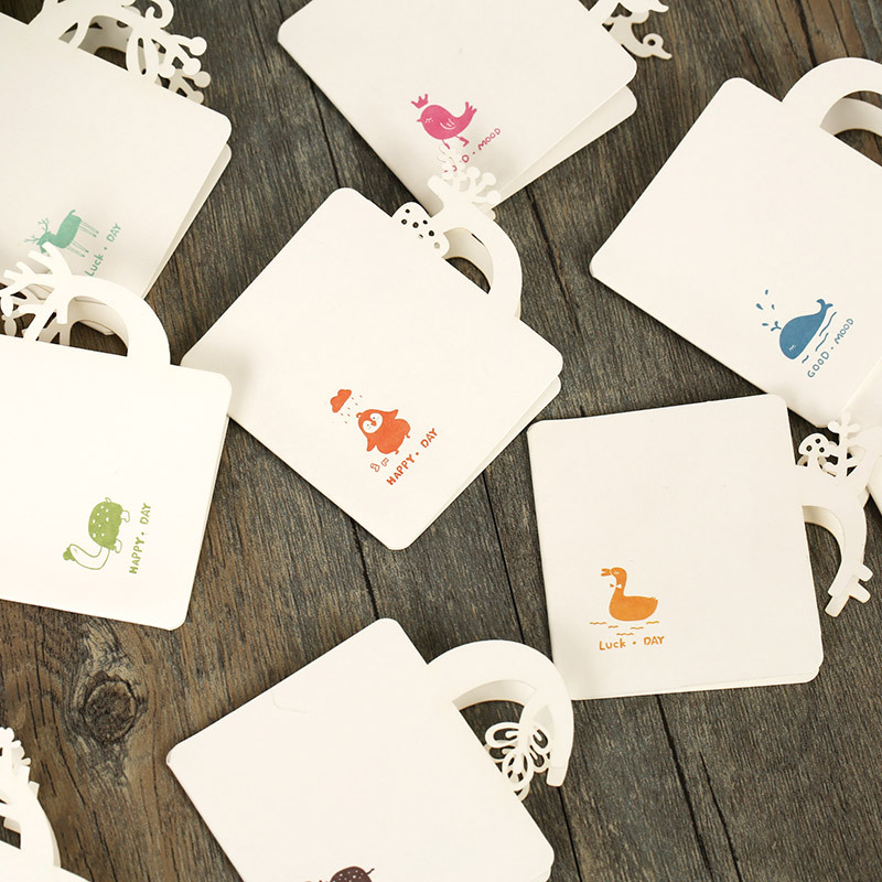 Wholesale 36pcslotassorted Afternoon Tea Greeting Card With