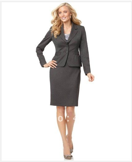 Womens Gray Suit