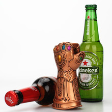 Infinity The Avengers Thanos Gauntlet Glove Thor hammer Beer Bottle Opener  Useful Glass Cap Remover Tool Household