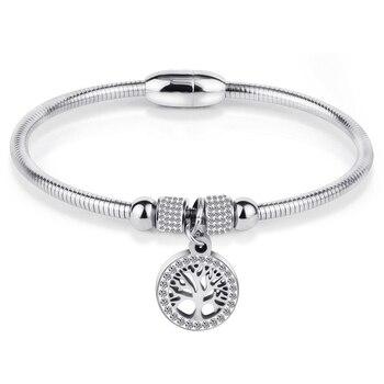 Histoire D'or Bracelet Arbre De Vie