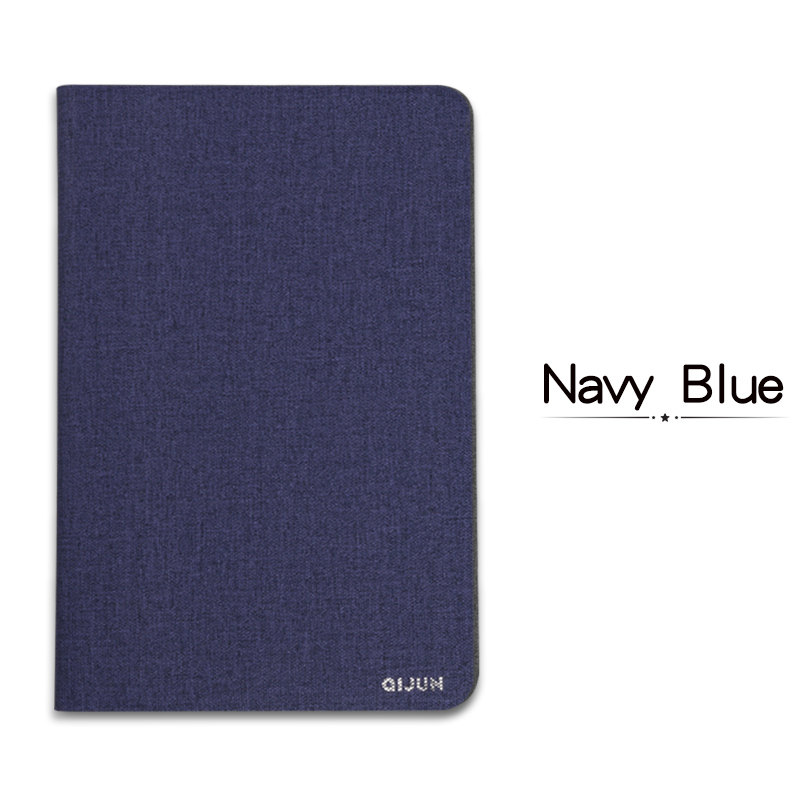 Navy Blue Blue QIJUN For iPad 10 2inch 2019 Flip Tablet Cases Fundas For iPad 7th 2019 10 2