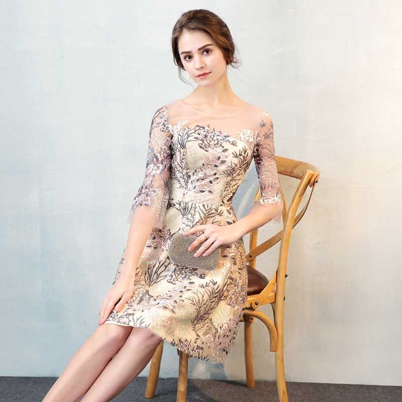 4f7d8ca804f44 weiyin Cocktail Dresses Short Mini Party Formal Evening Gowns Short  Cocktail Dress 2018 WY826