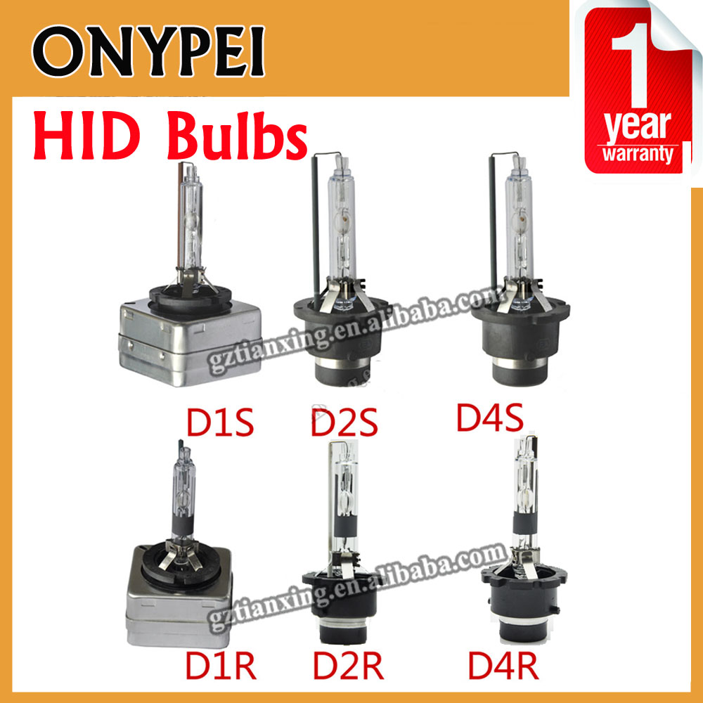 2pcs High Quality Free Shipping Car Light Source HID Xenon Bulb D1S D1R D2S D2R D4S D4R 35w 4300k/6000k